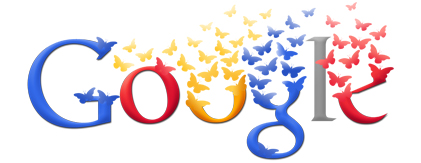 Google Logo: Colombia Independence Day - 201 years of independance, in 2011