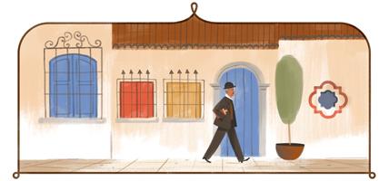 156º aniversario del nacimiento de Tomás Carrasquilla - Tomás Carrasquilla's 156th Birthday : Colombia