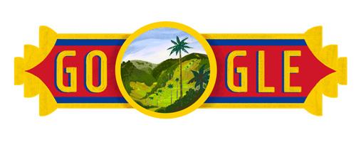 Día de la Independencia de Colombia Doodle Google 20 luglio 2016