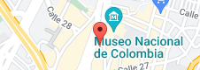 Mapa de Hotel ibis Bogota Museo